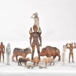 現代の縄文アート・松山賢展「縄文怪人土偶怪獣」が本日から開催