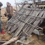 山梨県北杜市に縄文人現る?竪穴式住居の建築現場を見学してきた