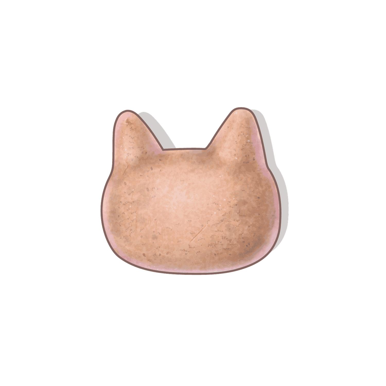 35. ネコ形土製品